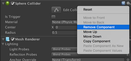 Remove Component