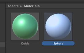 Sphere用マテリアル