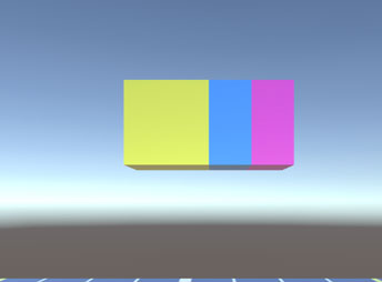 3つのオブジェクト(プリンターのインクみたい)