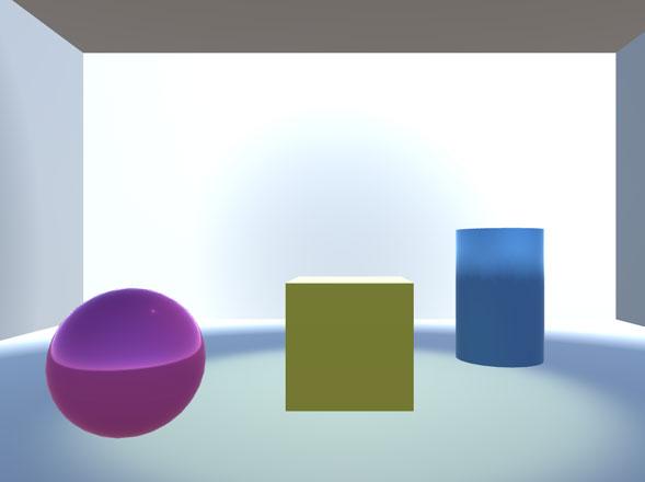 光を透過する新素材かな?