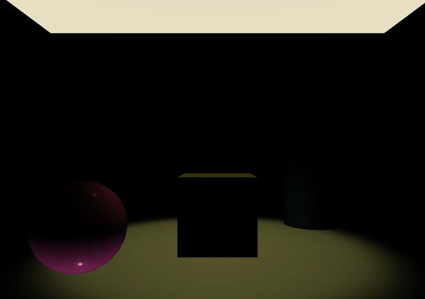 相変わらず床を貫通する光