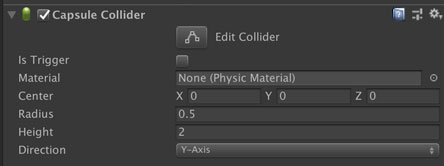 Colliderのパラメータ