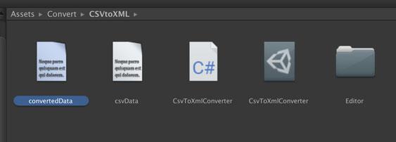 変換されたファイルが出力された