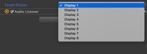 Displayの選択