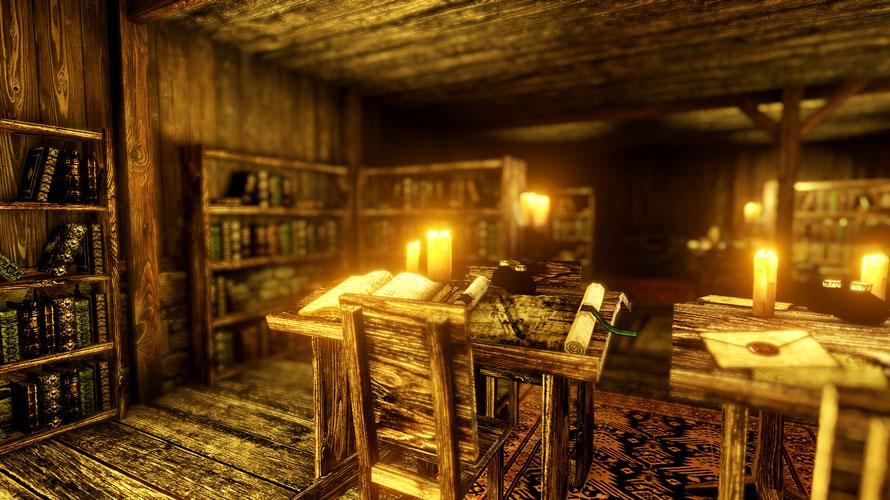 天井と壁、壁と本棚など、接触している箇所の多い室内にも向いている