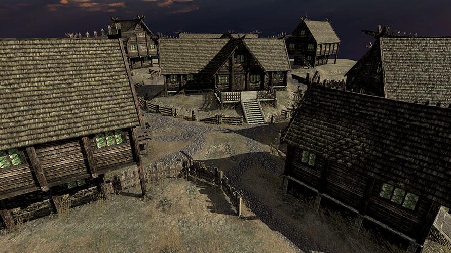 バイキングの村
