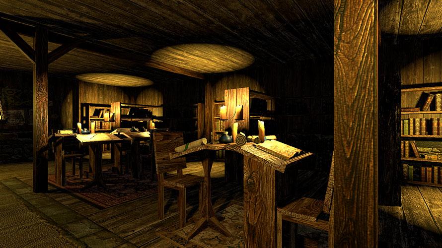 村の図書館