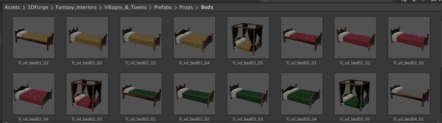 ベッドも様々なタイプが