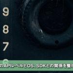 【Unity】AndroidのAPIレベルとOS、SDKとの関係を整理してみる