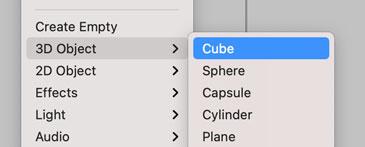 Cubeの作成
